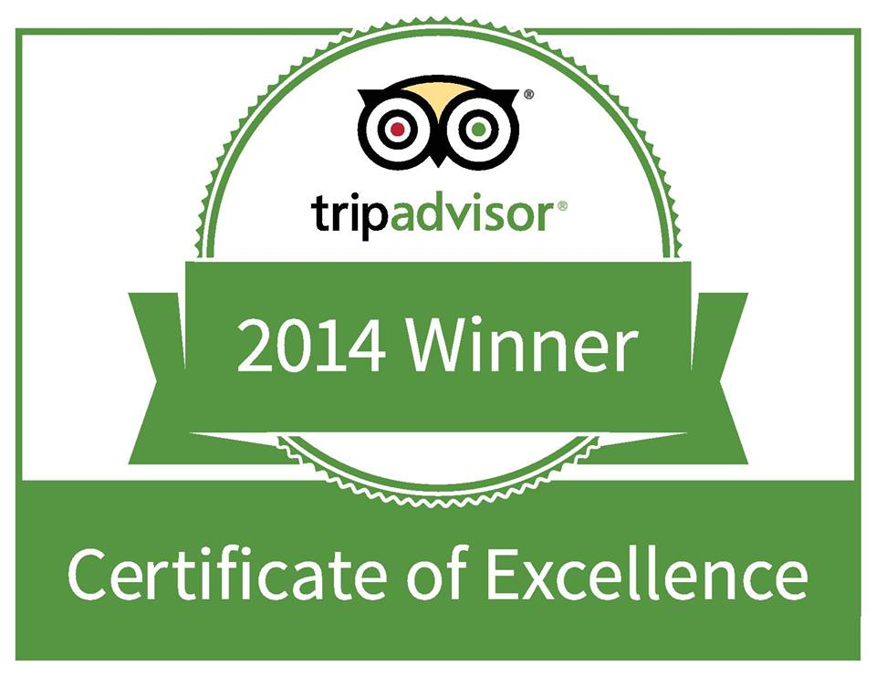 Trip Advisor Excellence 2014